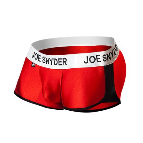 Joe Snyder Activewear Boxer // Red (S)