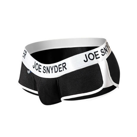 Joe Snyder Activewear Mini Shorty // Black (S)