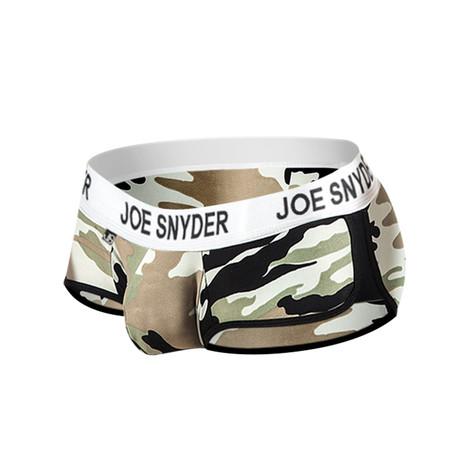 Joe Snyder Activewear Mini Shorty // Camo (S)