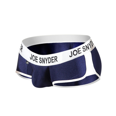 Joe Snyder Activewear Mini Shorty // Navy (S)
