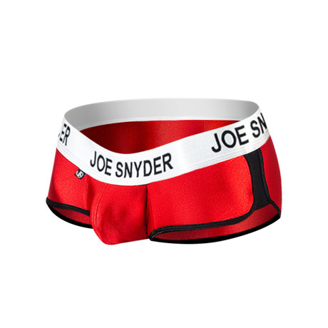 Joe Snyder Activewear Mini Shorty // Red (S)