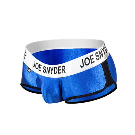 Joe Snyder Activewear Mini Shorty // Royal (S)