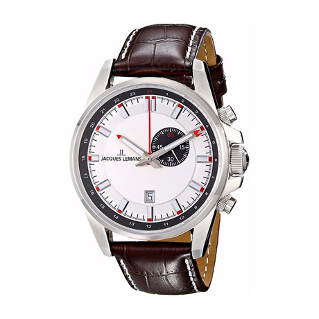 Jacques Lemans Liverpool GMT Quartz // 1653B