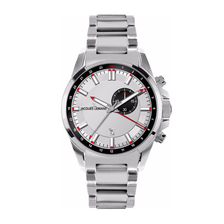 Jacques Lemans Liverpool GMT Quartz // 1653E