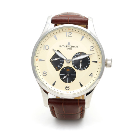 Jacques Lemans London Chronograph Quartz // 1827C