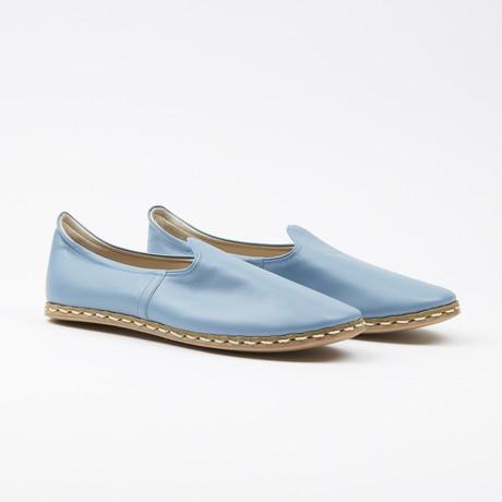 Classic Leather Espadrilles // Anar Blue (US: 7.5)