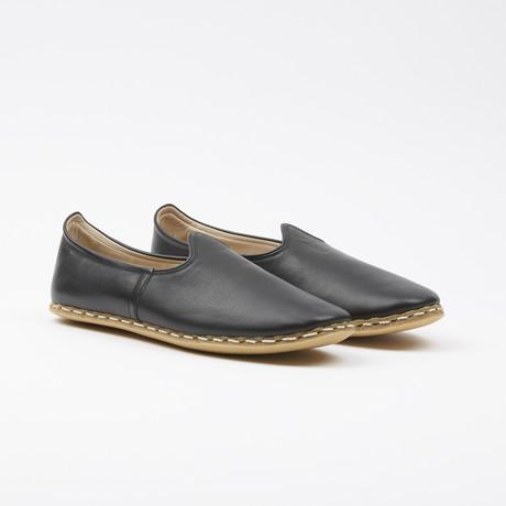 Classic Leather Espadrilles // Bering Black (US: 7.5)