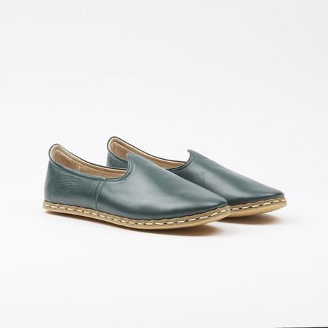 Classic Leather Espadrilles // Bottiglia Green (US: 7.5)