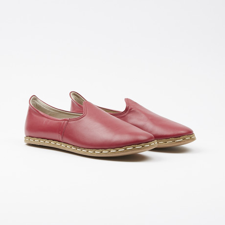 Classic Leather Espadrilles // Hosting Red (US: 7.5)