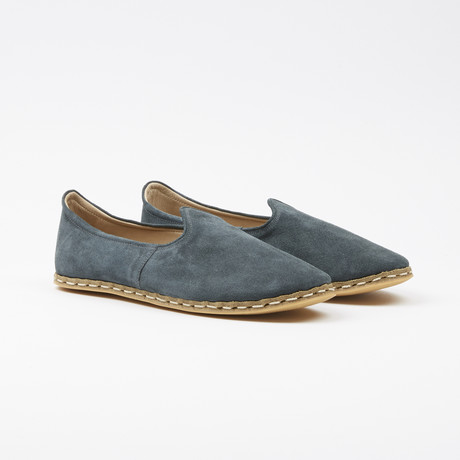 Classic Suede Espadrilles // Hydro Green (US: 7.5)