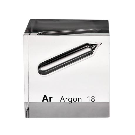 Lucite Cube // Argon