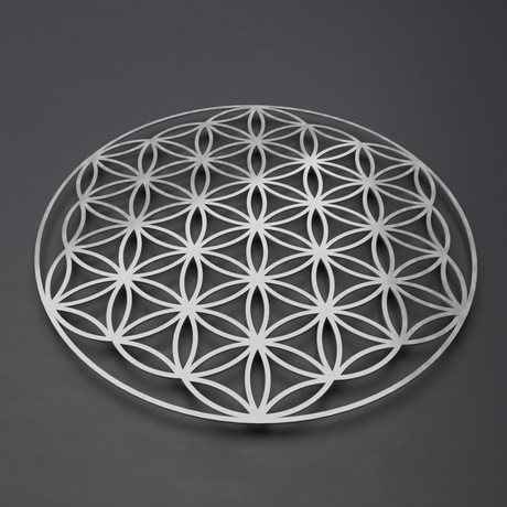 Flower of Life 3D Metal Wall Art