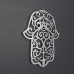 Hamsa Hand/Hand of Fatima 3D Metal Wall Art