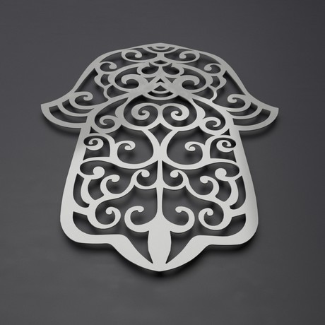 Hamsa Hand/Hand of Fatima 3D Metal Wall Art