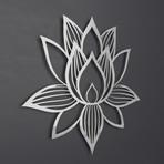 Lotus of Enlightenment II 3D Metal Wall Art