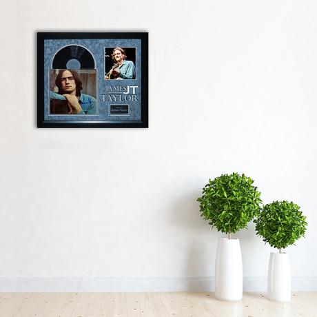 Autographed Album Collage // James Taylor I