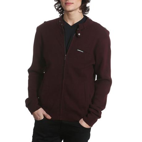 Iconic Sweater // Burgundy