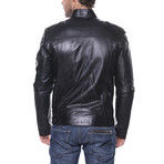 Flagstick Leather Jacket // Black (S)