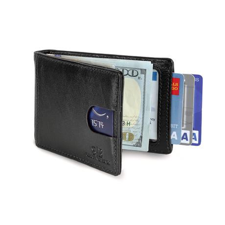 1.0 Wallet // Jet Black