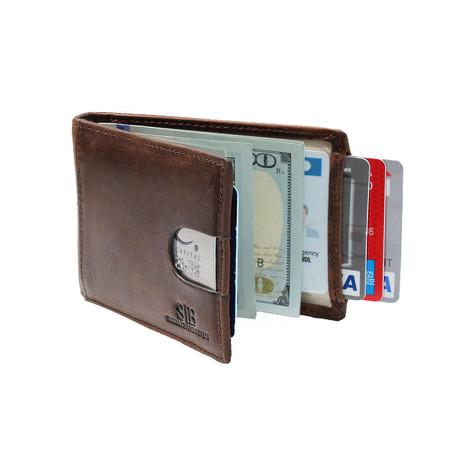 1.0 Wallet // Texas Brown