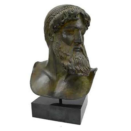 Poseidon Of Artemision Bronze Bust