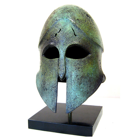 Corinthian Full Size Helmet (Includes Marble Helmet Stand)