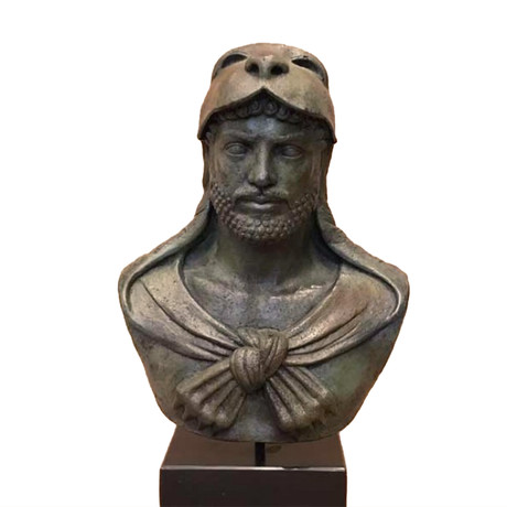 Heracles Bronze Bust