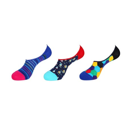 No Show Socks // Spring is Here // 3-Pack