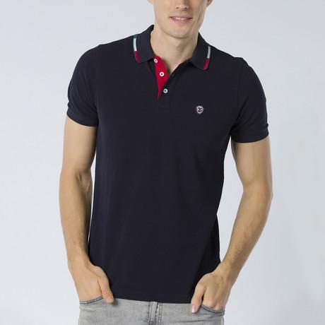 Jakub Short Sleeve Polo // Navy