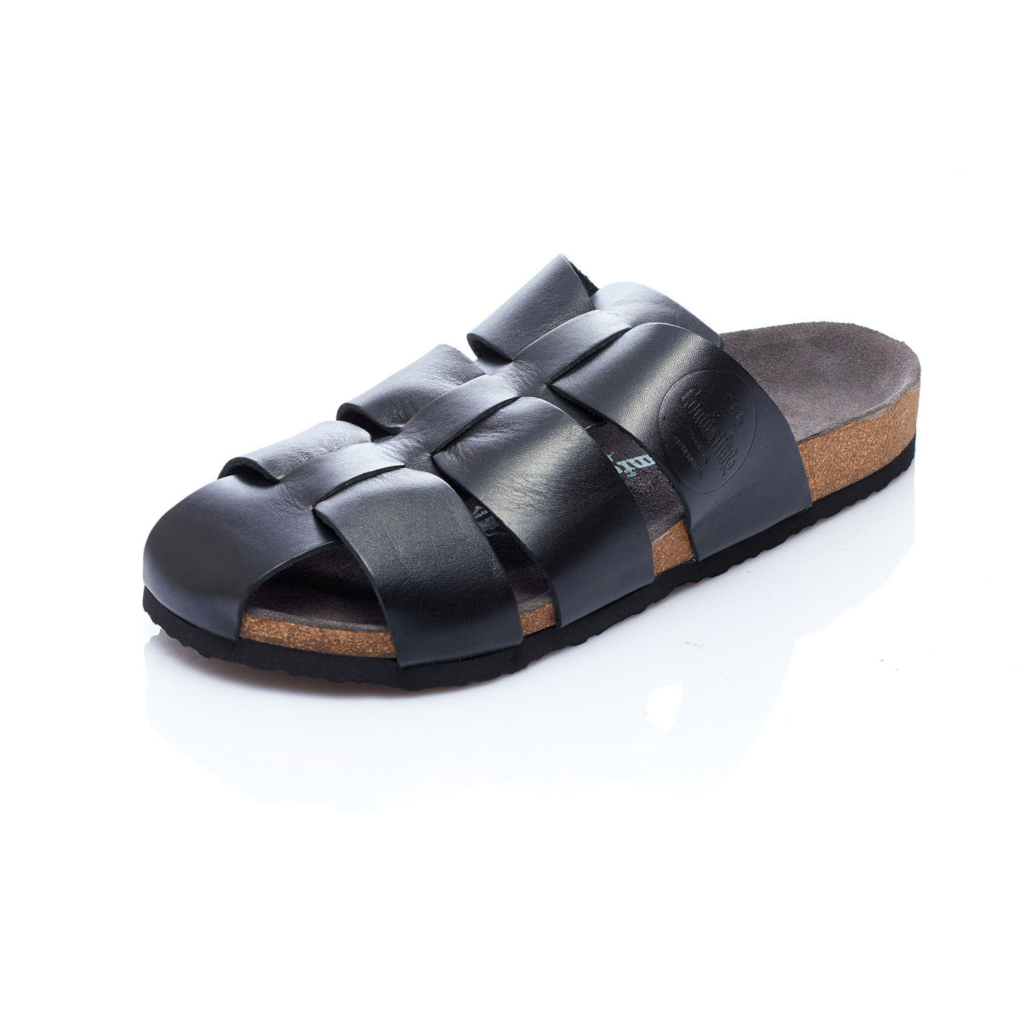 4deffac026ac Fred Sandal    Black (Euro  45) - Comfortfusse - Touch of Modern