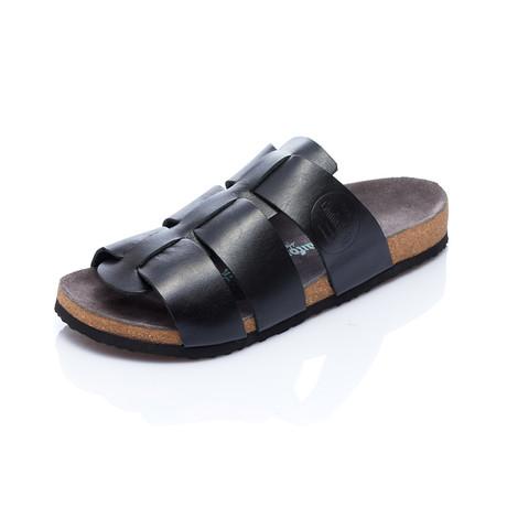 Kort Sandal // Black