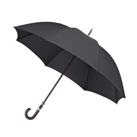 Falcone // Windproof Wood Handle Golf Umbrella