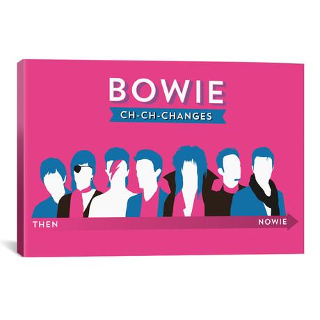 """Bowie Ch-Ch-Changes (18""""W x 26""""H x 0.75""""D)"""