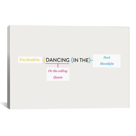 """Dancing (18""""W x 26""""H x 0.75""""D)"""
