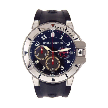 Harry Winston Project Z2 Ocean Diver Automatic // 410-MCA44WZ // New