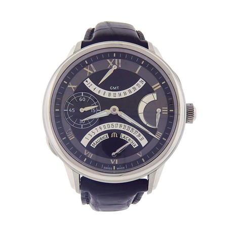 Maurice Lacroix Masterpiece Double Retrograde Automatic // MP7218-SS001-310 // New