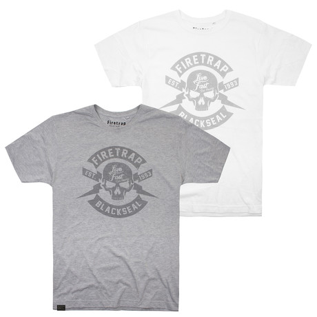 2 Pack - T-Shirts III // Multi (S)