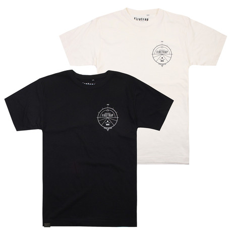 2 Pack - T-Shirts V // Multi (S)