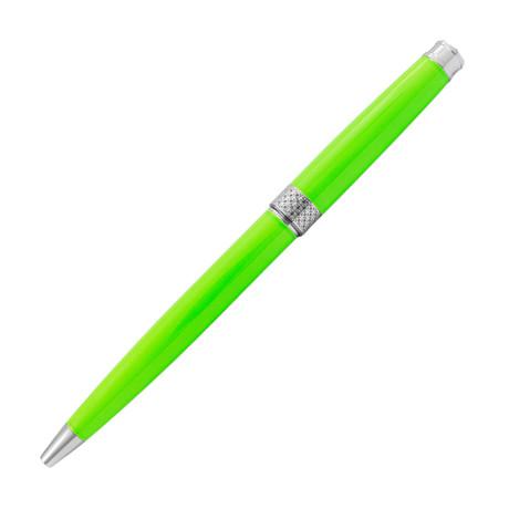 Piacere Chrome Ballpoint Pen // Lime Green