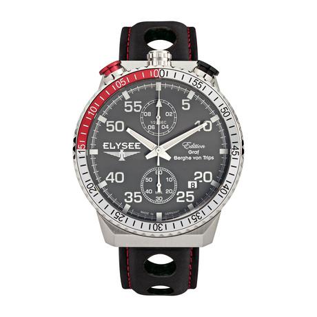 Elysee Rally Timer I Chronograph Quartz // 80516MMG