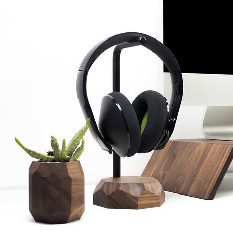 Headphone Stand // Walnut