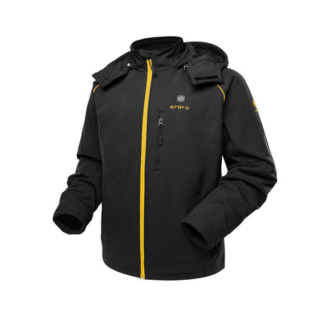 Sports Heated Jacket // Black + Gold (Medium)