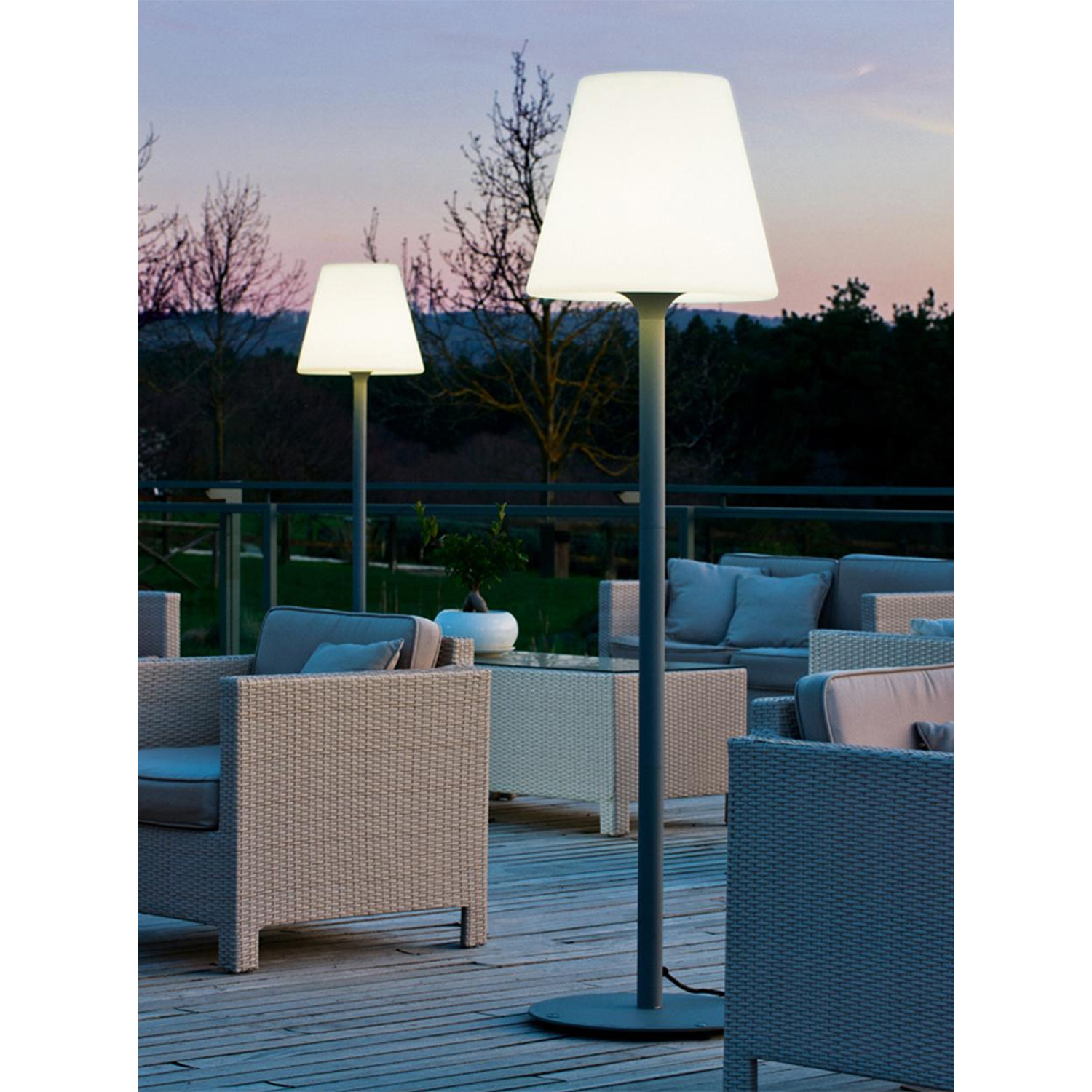 Akaa Outdoor Floor Lamp Corded Artkalia Touch Of Modern