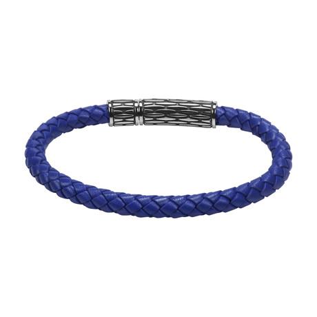 Neon Leather Bracelet