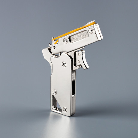 uncommon carry metal rubber band guns touch of modern
