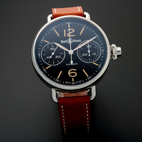 Bell & Ross One Button Chronograph Automatic // 1RBRWW // Store Display