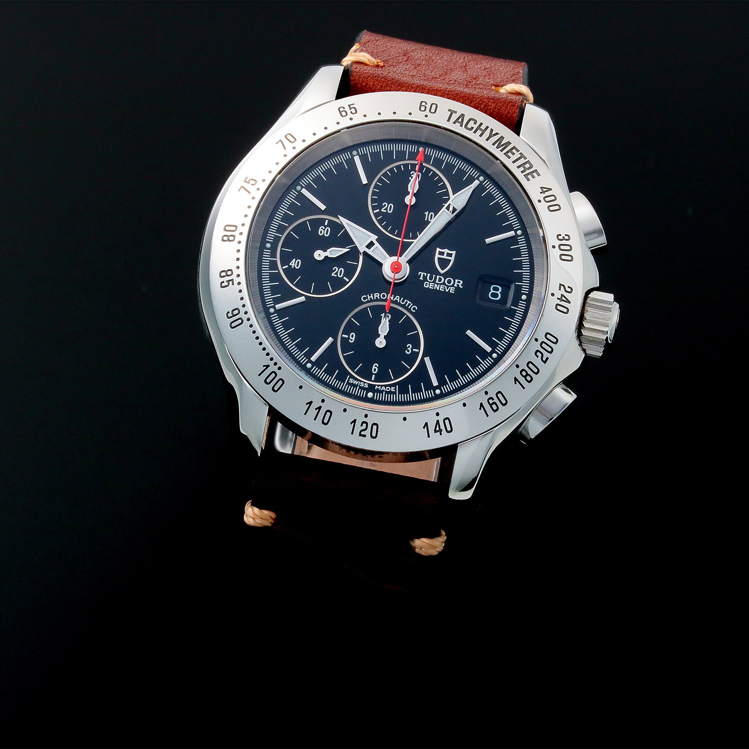 Tudor geneve chronograph automatic c7928 pre owned premier timepieces touch of modern for Tudor geneve watches