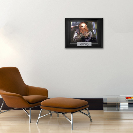 Signed Artist Series // Lord of the Rings Gimli