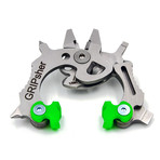 GRIPsher (Silver + Black Jaws)