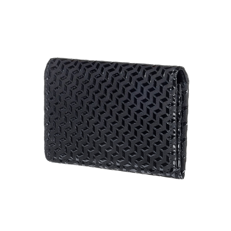 Business card case chevron black black inden est 1582 business card case chevron black black colourmoves
